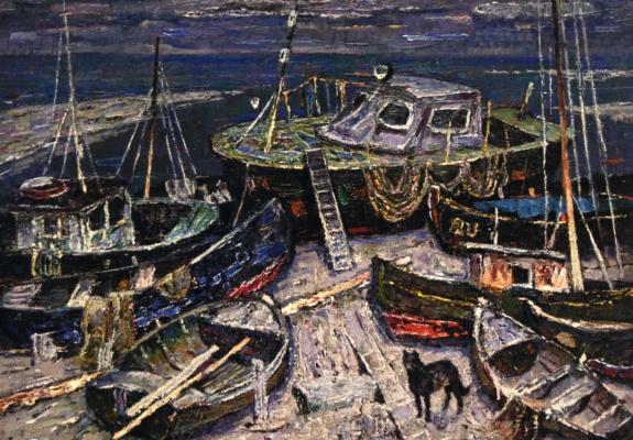 Эдуард Иосифович Базилянский. Старые лодки