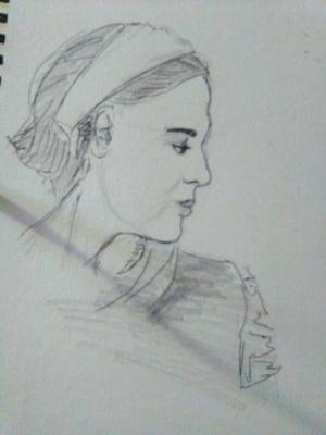 Мария Есина. Портрет неизвестной