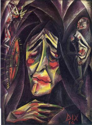 Otto Dix. Nun
