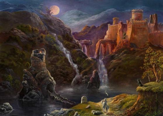 Станислав Побытов. Night-in-fairy-kingdom