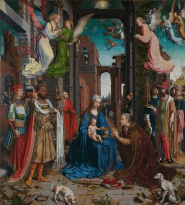 Jan Gossaert. The Adoration of the Kings