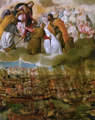 Paolo Veronese. Battle of Lepanto