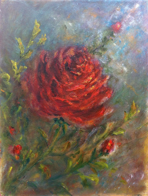 Rita Arkadievna Beckman. Rose - the first ray of the sun