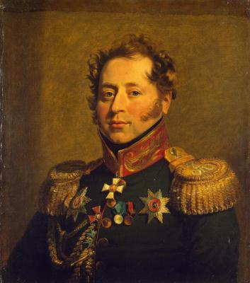 George Dow. Portrait Of Nikolai Mikhailovich Borozdin