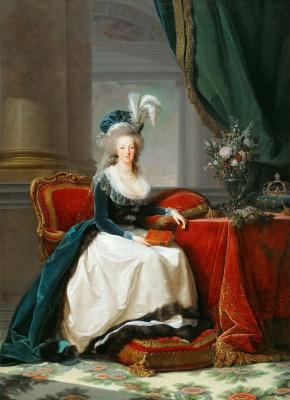 Elizabeth Vigee Le Brun. Queen Of France Marie Antoinette