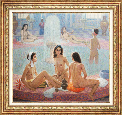 Igor Razzhivin. Turkish baths