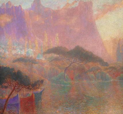 Lucien Levi-Durme. Eastern fantasy. 1921
