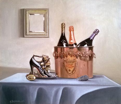 Slava chilikin. TABLE AND MIRROR