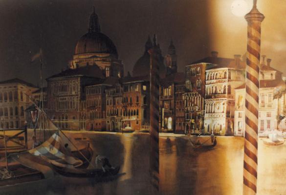 Alexey Yuryevich Maslov. Night Venice
