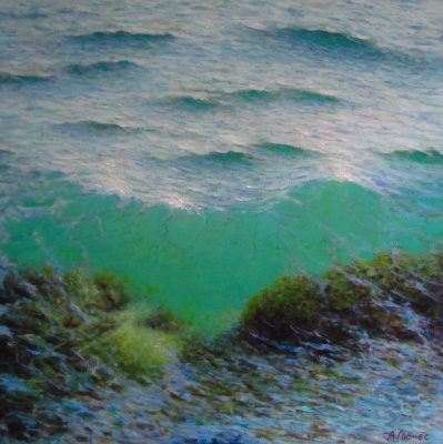 Andrew Lumez. Transparent wave