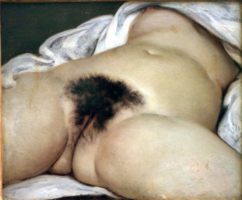 Gustave Courbet. The origin of the world