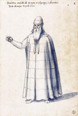 Джузеппе Арчимбольдо. Аллегория Диалектики