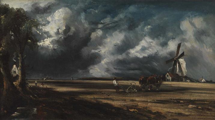 John Constable. Windmill