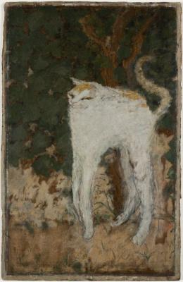 Пьер Боннар. Белый кот