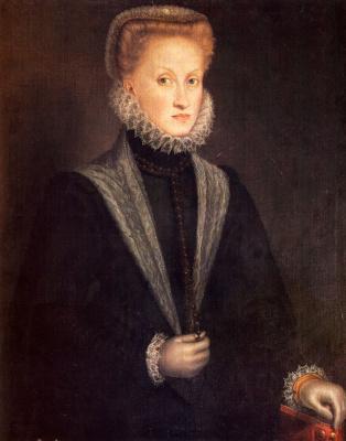 Софонисба Ангиссола. Анна Австрийская, королева Испании