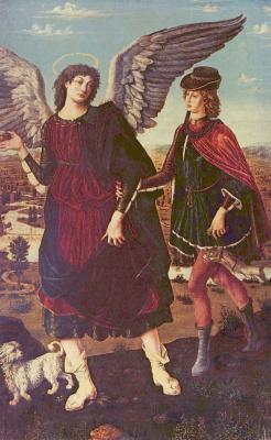 Антонио Поллайоло. Товия с ангелом