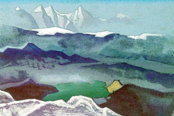 Nicholas Roerich. KORADO (Vision of mountain snows)