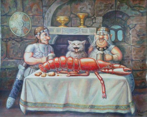 Stepan Vladimirovich Kashirin. Lobster