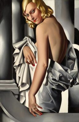 Tamara Lempicka. Portrait of Marjorie Ferry