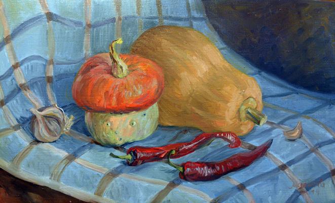 Марианна Маслова. Натюморт с перцем