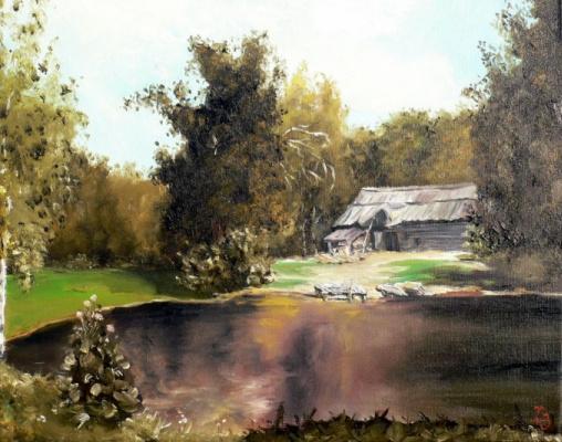 Сергей Николаевич Ходоренко-Затонский. The lake house
