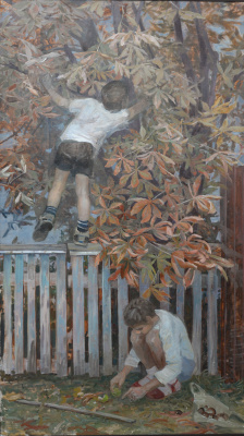 "Olga Menzhily. ""Time of chestnuts"""