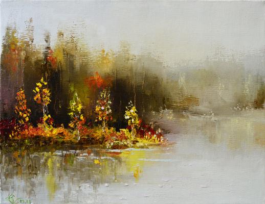 Vadim Anatolyevich Stolyarov. Autumn fog