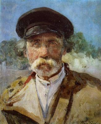 Vladimir Egorovich Makovsky. Peasant