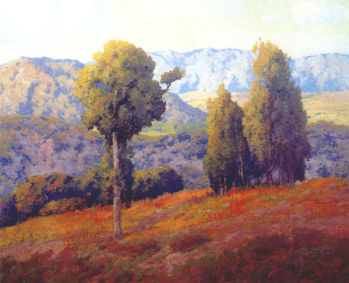 Морис Браун. Холмы Южной Калифорнии