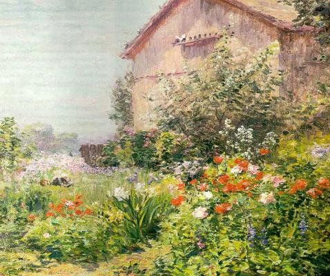 Бикнелл. Дом в саду