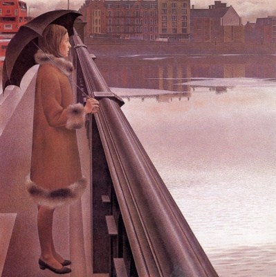 Alex Colville. The River Thames
