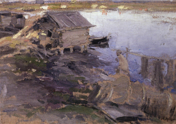 Abram Arkhipov. On the banks of the river