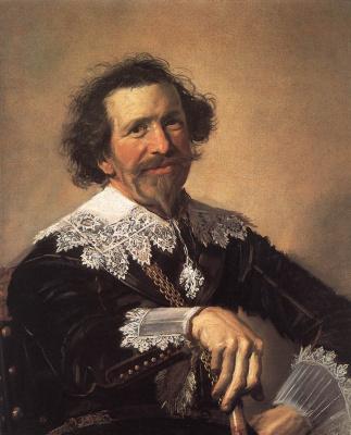 France Hals. Portrait of Pieter van der brook