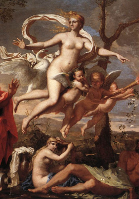 Никола Пуссен. Венера вручает оружие Энею