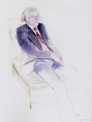 David Hockney. Andy Warhol