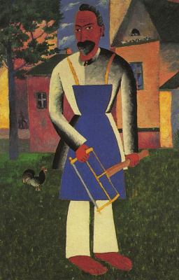 Kazimir Malevich. Cottager