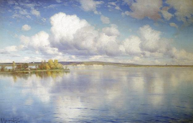 Konstantin Yakovlevich Kryzhitsky. Lake