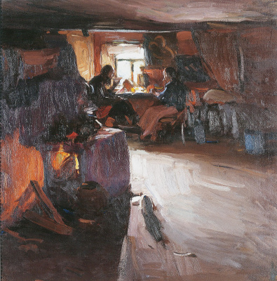 Abram Arkhipov. Morning