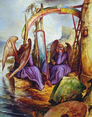 Samuel Bak. Reflecting