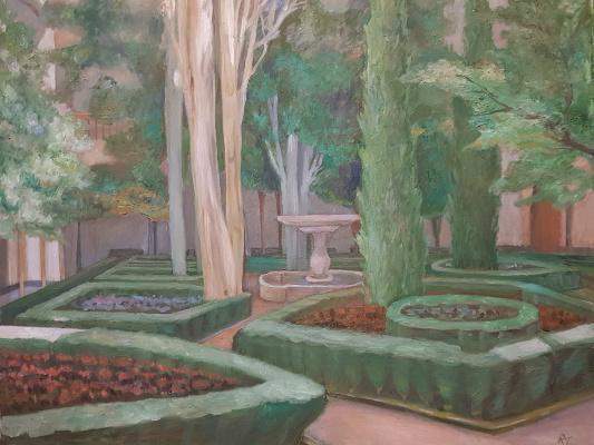 Tatiana Mykolaivna Motherland. Green architecture. Alhambra II Gardens