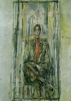 Alberto Giacometti. Diego sitting