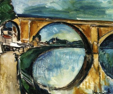 Морис де Вламинк. Акведук в Ножан-сюр-Ман