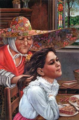 Ричард Хесс. Женщина в шляпе