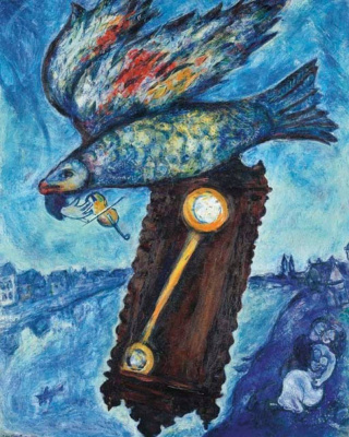 Marc Chagall. Time is a river without banks