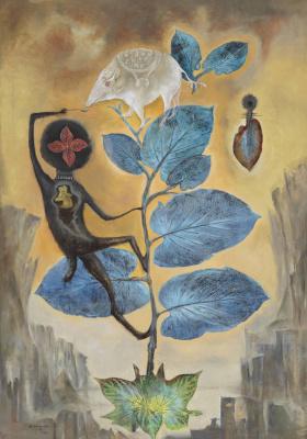 Leonora Carrington. From sacred herbs