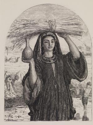 William Holman Hunt. The Abundance Of Egypt