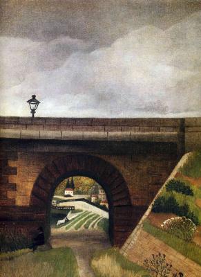 Henri Rousseau. Bridge