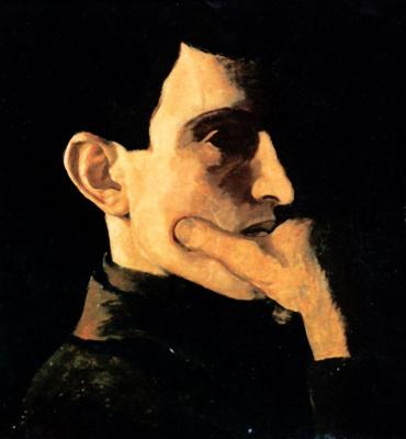 Nikolay Petrovich Krymov. Self-portrait