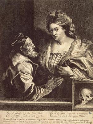 Тициан и его возлюбленная