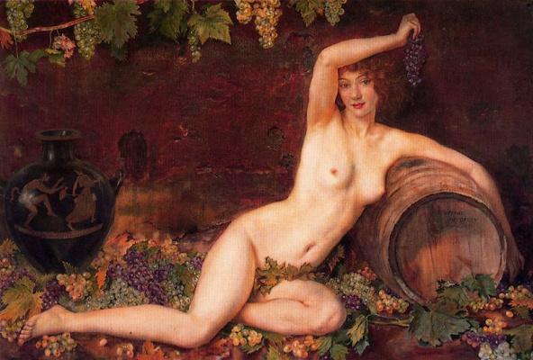 George Owen Wynne Upperley. Soul of the vine